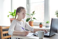 bigstock-Schoolgirl-Looks-At-A-Laptop-S-