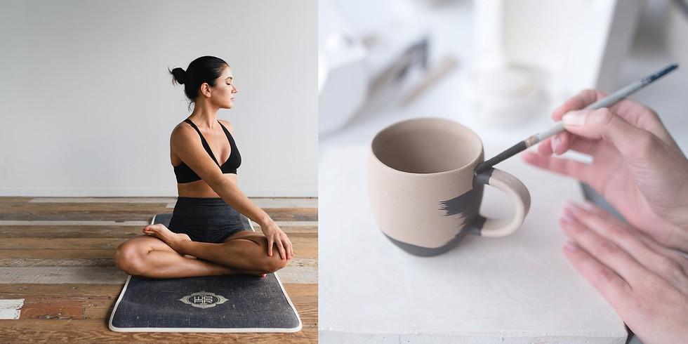Yoga, Brunch & Ceramics