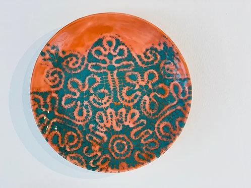 Large plate 34 cm