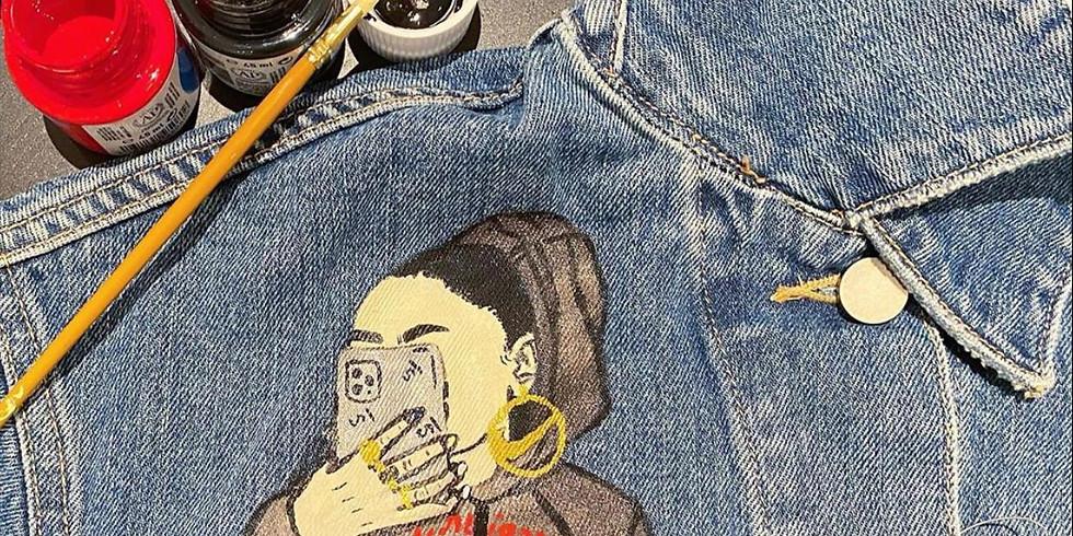 Paint your denim jacket