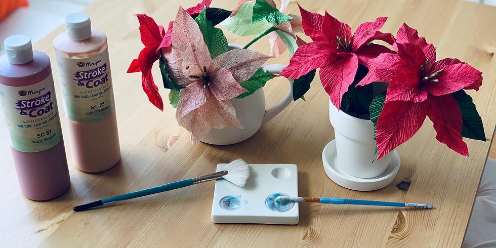 Festive flowers & vase workshop