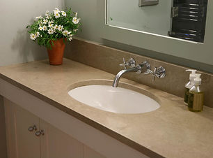 Limestone vanity top.JPG