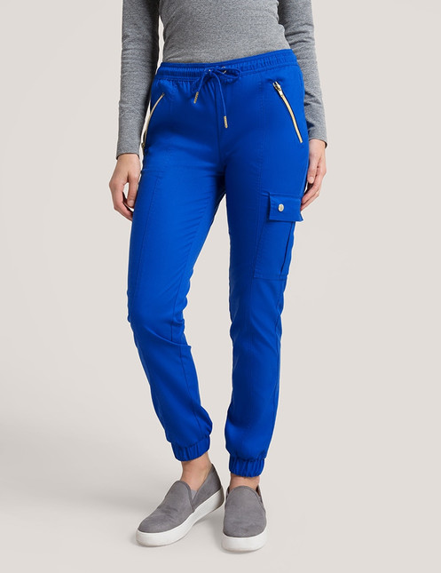 88f6f4ddf95 Our best-selling jogger pant is the perfect mix of sporty and feminine—and  definitely your new on-trend scrub staple.