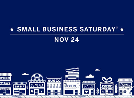 Black Friday & Shop Small Saturday Sale
