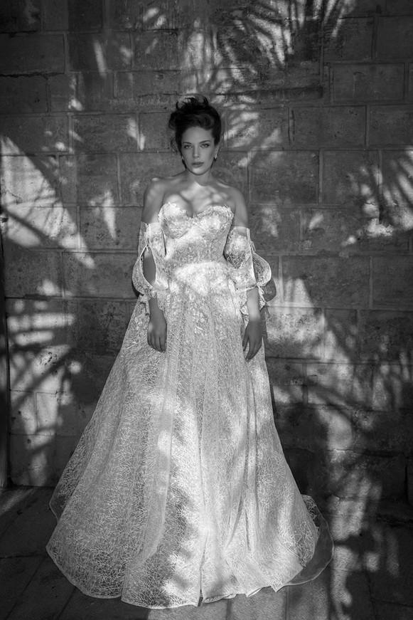 שמלת כלה מושלמת מידות גדולות