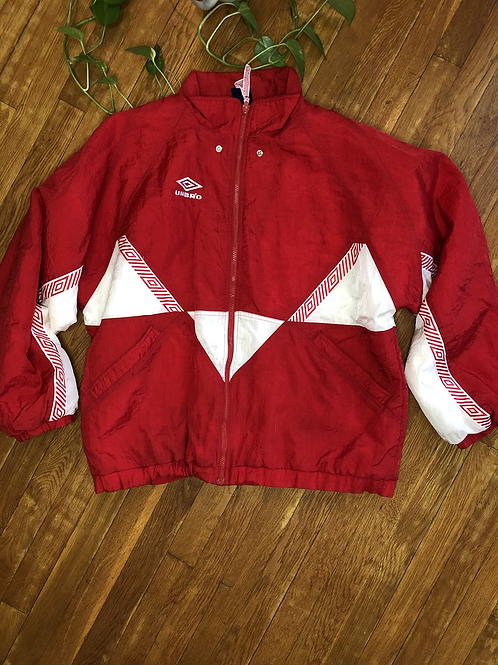 Vintage 90s Umbro Zip Up Jacket