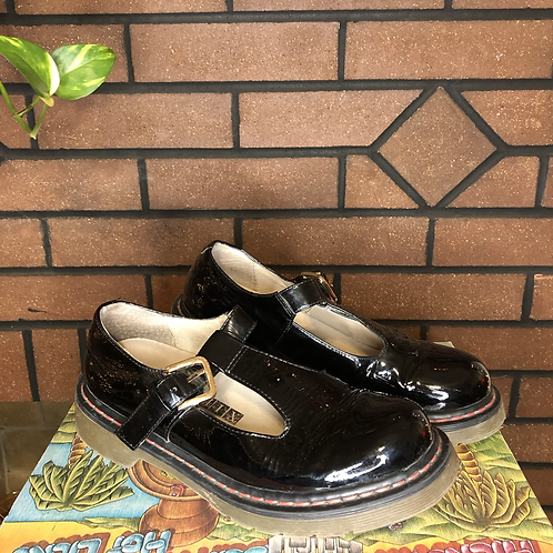 Vintage 90s Patent Leather Platform Mary Janes