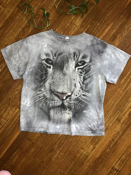 Snow Leopard Tie Dye Short Sleeve Tee