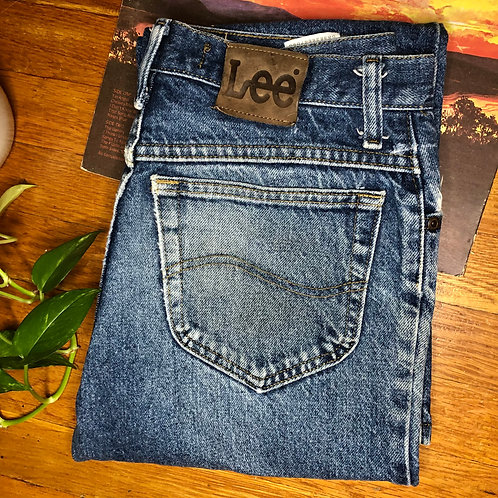Vintage LEE Brand Classic Fit Straight Leg Jeans