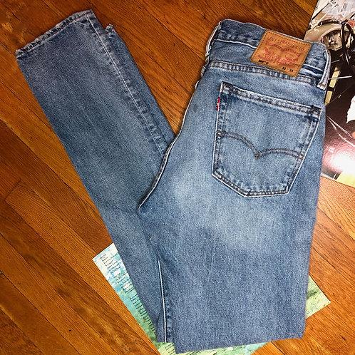 Levi's 505C Distressed Medium Wash Jeans