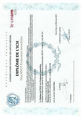 CNAM ICH expert immobilier evaluation valeur vénale