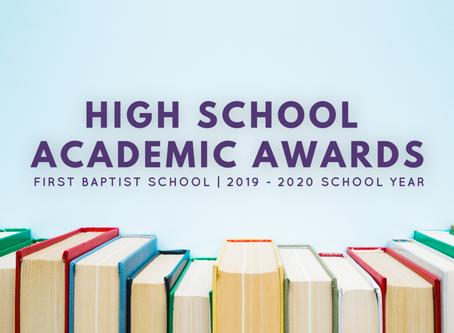 High School Academic Awards
