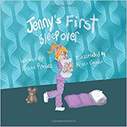Health Book Review: Jenny's First Sleepover by Dr. Moshe Rhodes