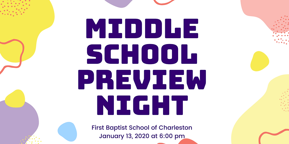 Middle School Preview Night