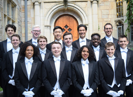Prestigious Yale a cappella group, the Whiffenpoofs, to visit First Baptist School