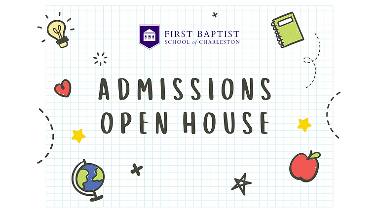Admissions Open House for K5 - 1st grade (Parents Only)