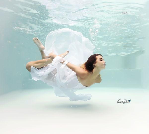 Séance photo sous l'eau