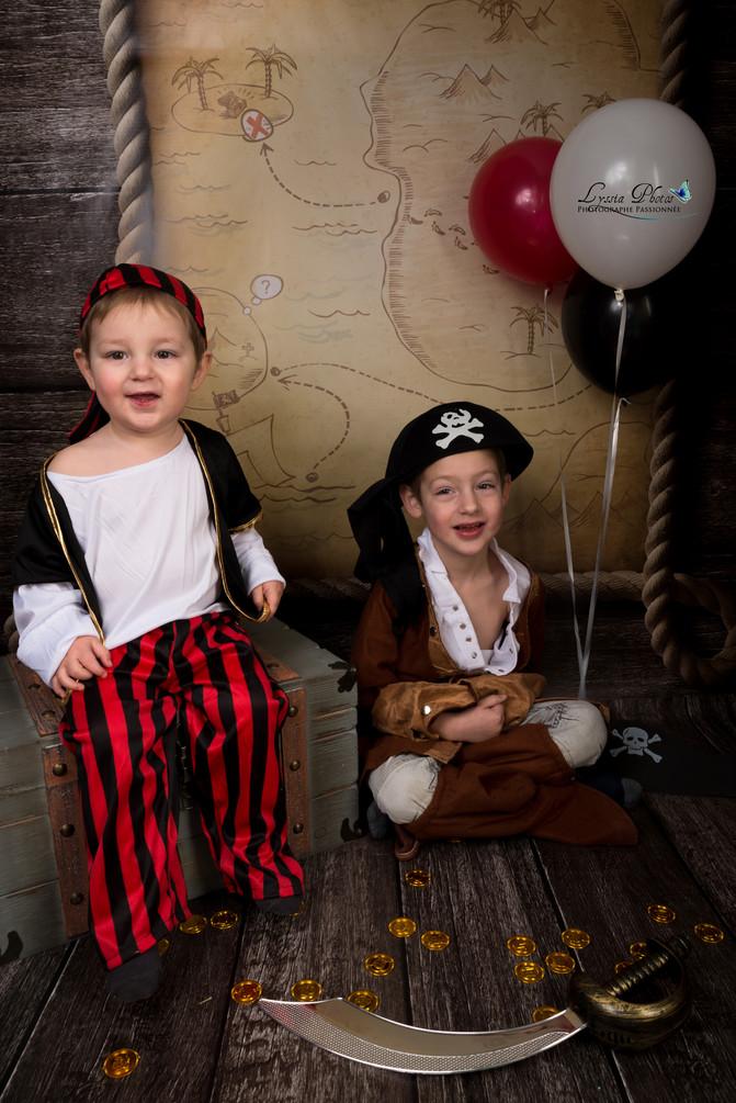 Des Princesses et Des Pirates au Studio !!