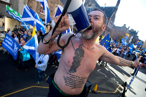 Scottish Independance Demonstrator