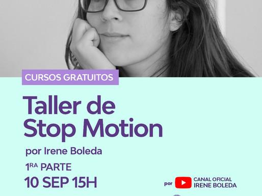 Taller Gratuito de Animación Stop Motion