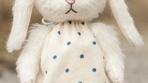 Matilda Teddy Bunny PDF Pattern Now Available from SoTreasuredShop on Etsy!