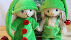 Christmas Bunny Elves