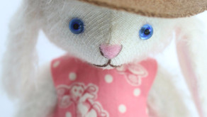 Making Bunny Doll Hats!