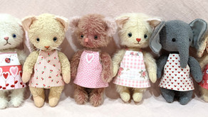 Free Pattern for Teddy Dolly Apron