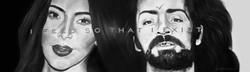 Kardashian/Manson as Conjoined Twins