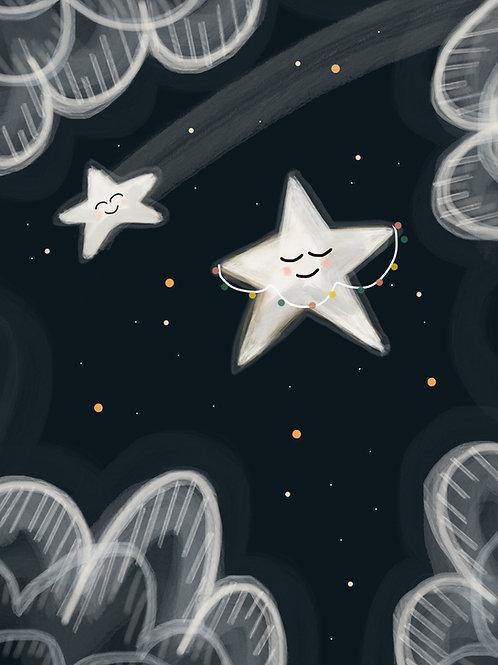 Christmas Star Print