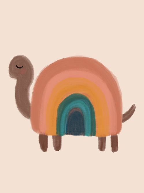 Earthy Rainbow Tortoise