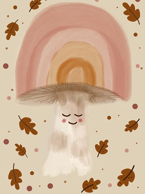 Magic Mushroom Print