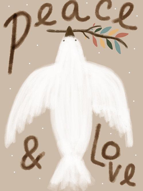 Peace & Love Print