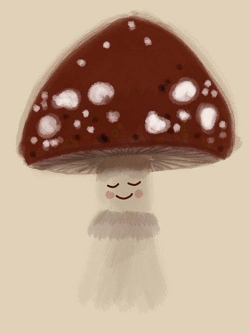 Magnificent Mushroom Print