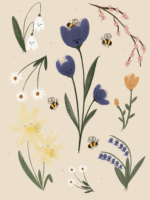 Calling to the Bees