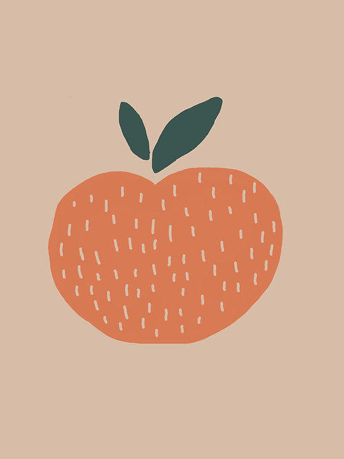 Pattern Clementine Print
