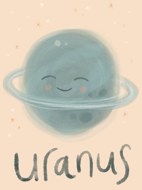 Uranus Print