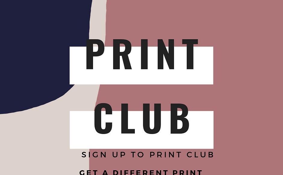 Print Club Subscription