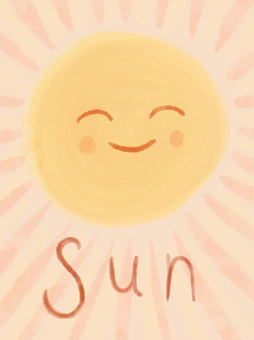 The Sun Print