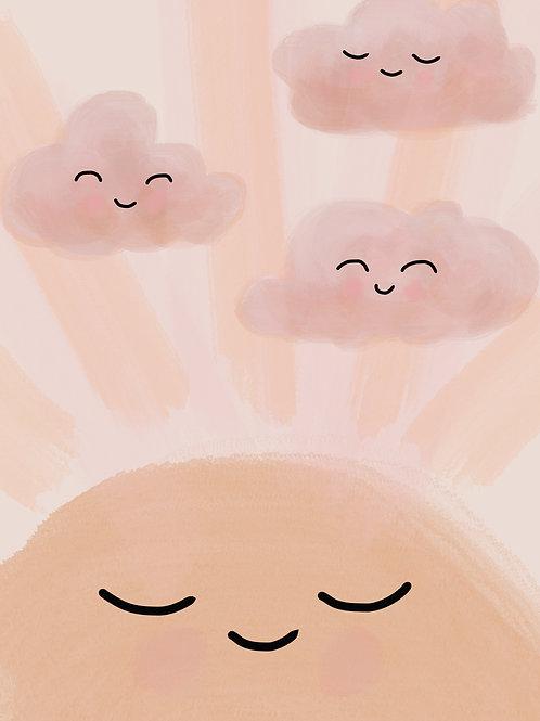 Goodnight Sunshine Print