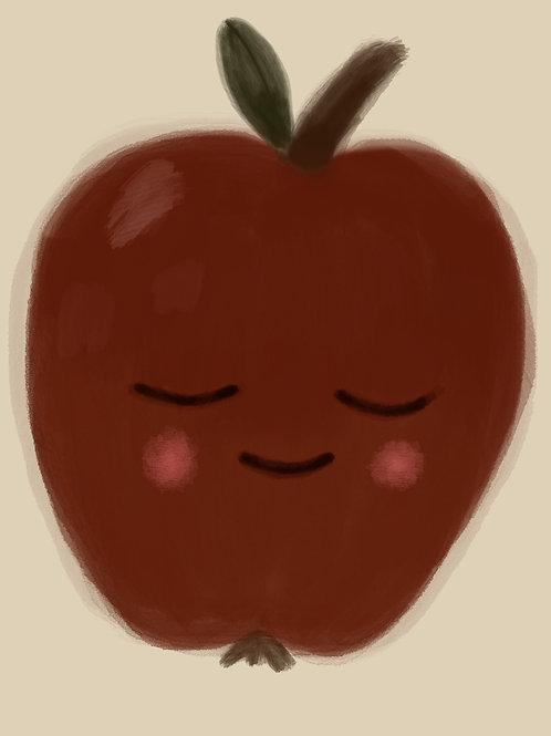 Autumn Apple Print