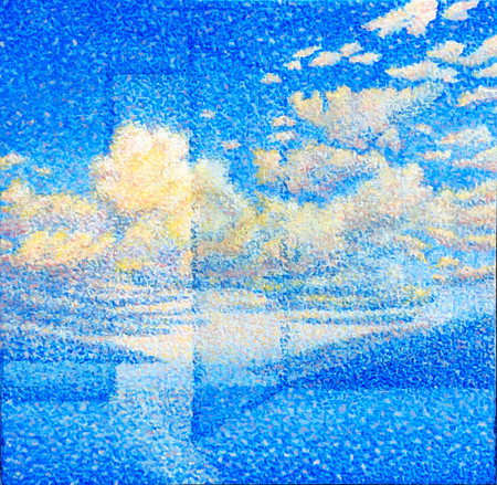 Cloud of hope 12 by 12 Inches
