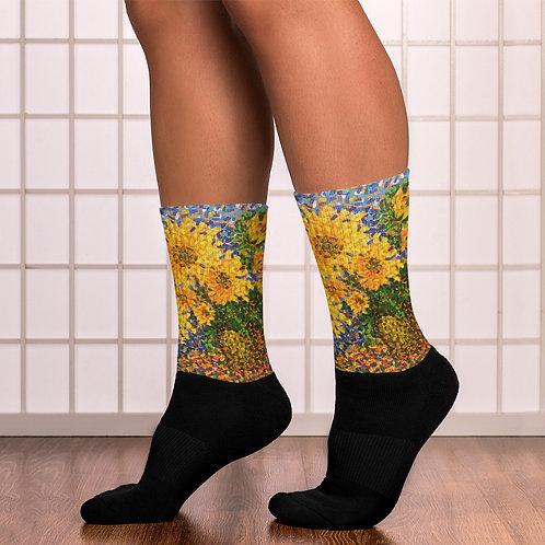 Arti Saxena Sunflowers Socks