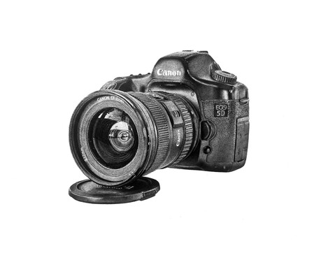 Camera  16.5 by 23.4 Inches