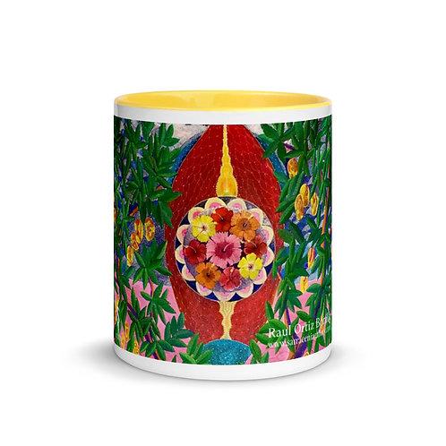 Raul Ortiz Bonilla Mug with Color Inside