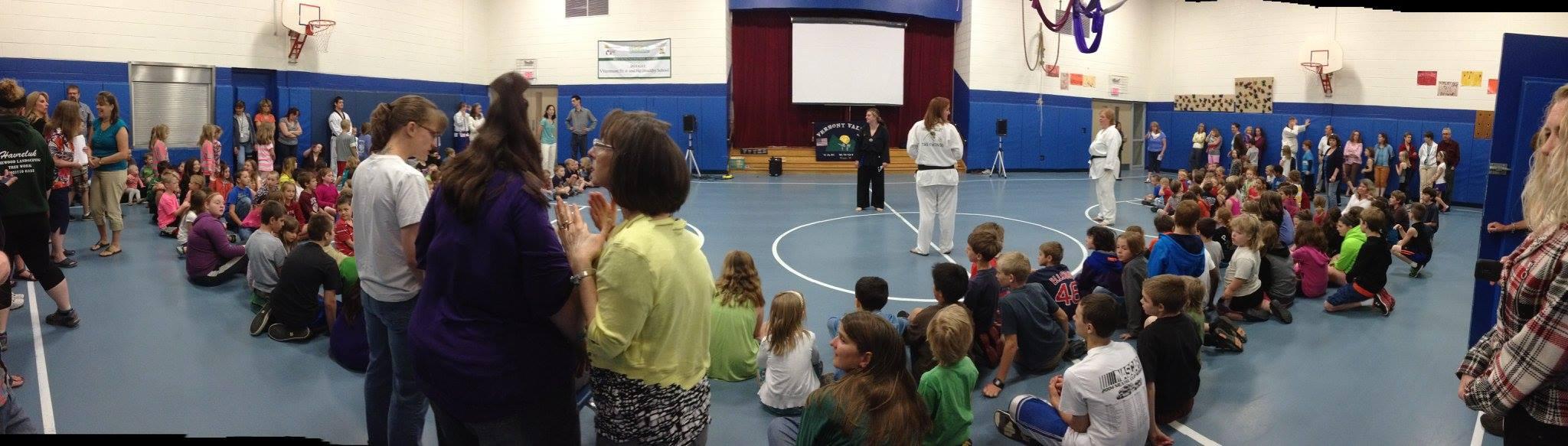 Elementary school demo