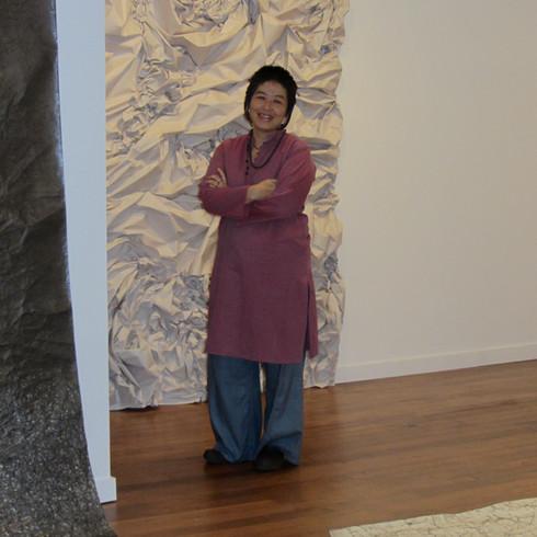Artist in installation View