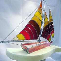 MB Bespoke Glass - Sail Boat