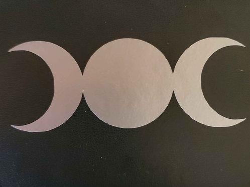 Triple Moon Vinyl Decal