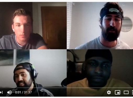 #34 - Sports Show & Backstage Ft. Alex founder of Game Break Sports